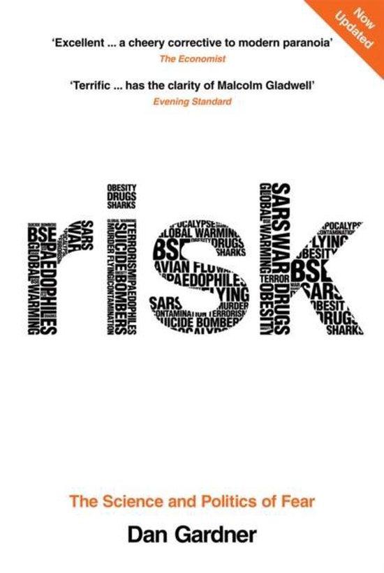 Boek cover Risk van Dan Gardner (Paperback)