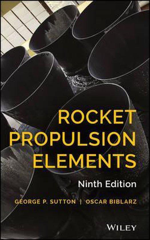 Boek cover Rocket Propulsion Elements van George P. Sutton (Hardcover)