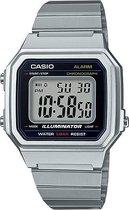 Casio collection horloge B650WD-1A-Zilverkleurig