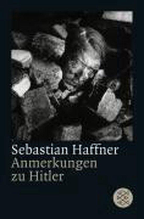 Boek cover Anmerkungen Zu Hitler van Sebastian Haffner (Paperback)