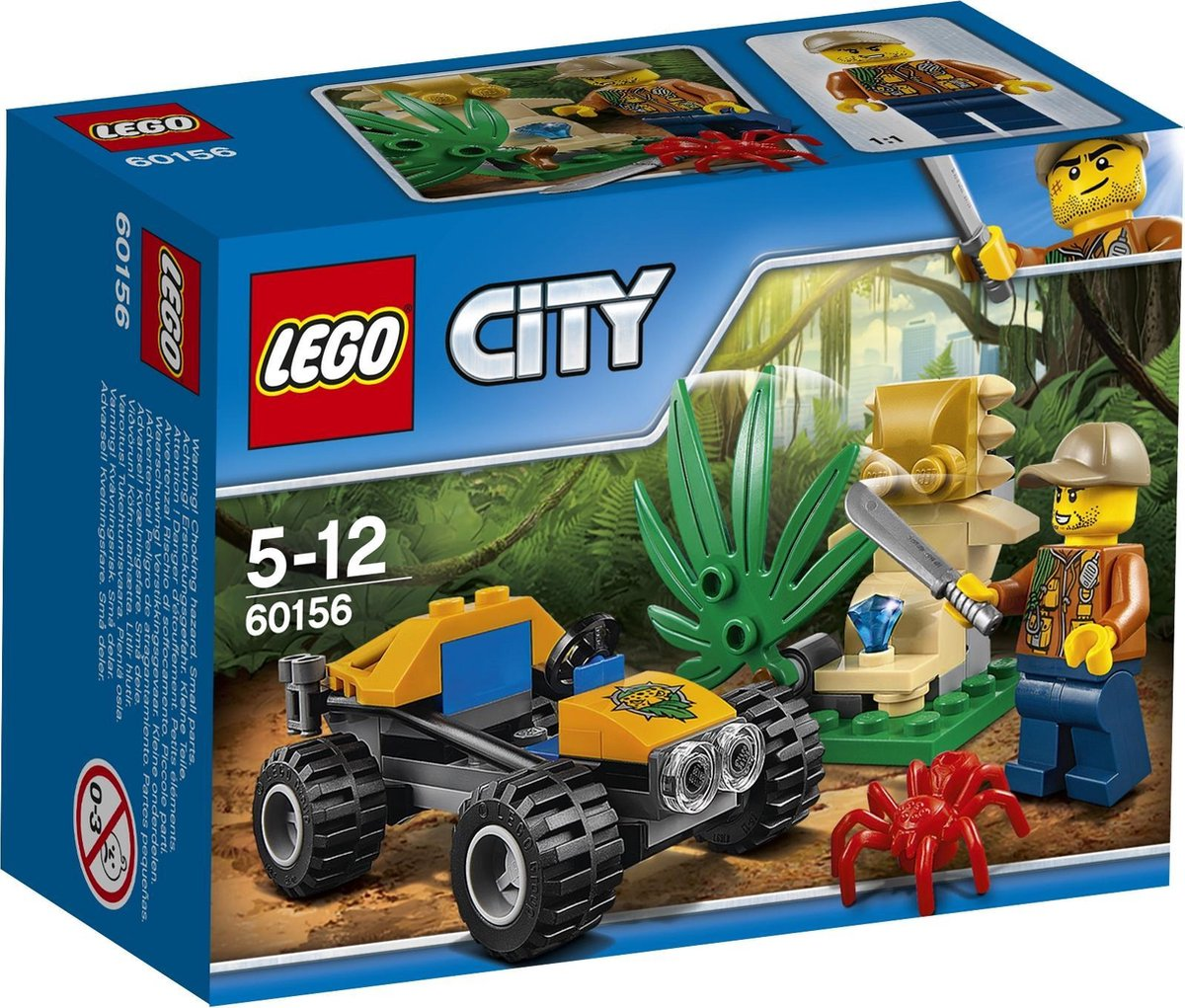 bol.com | LEGO City Jungle Buggy - 60156