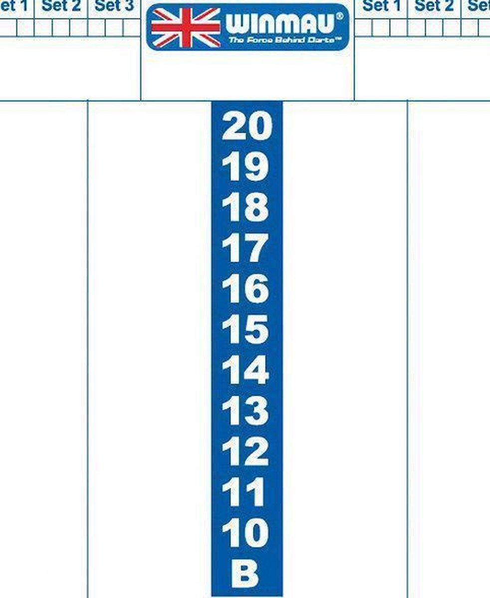 Winmau Whiteboard scorebord