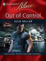 Boek cover Out of Control van Julie Miller
