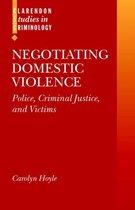 Omslag Negotiating Domestic Violence
