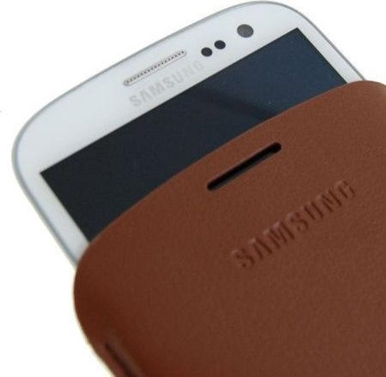 Samsung Pouch voor de Samsung Galaxy S3 - Bruin
