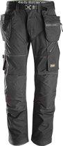 Snickers FlexiWork broek - met holsterzak - zwart - maat L taille 52 W36