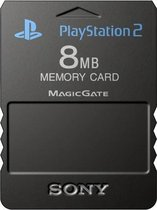 Sony PlayStation Memory Card 8 MB Zwart PS2