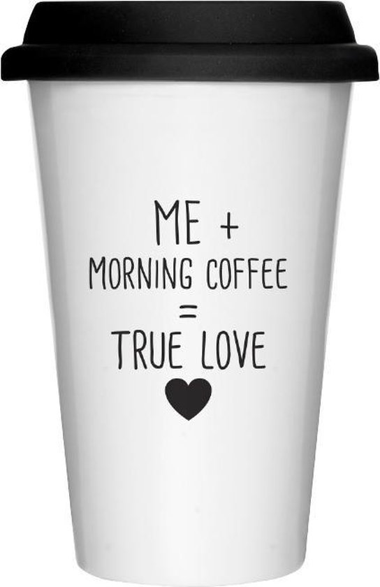 Koffiebeker to go - take away koffie - koffiebeker aardewerk - duurzame beker