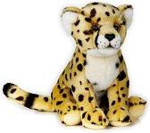 National Geographic Knuffelcheetah Junior 25 Cm Pluche Geel