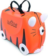 Trunki Ride-On Tijger Tipu - Kinderkoffer - 46 cm - Oranje