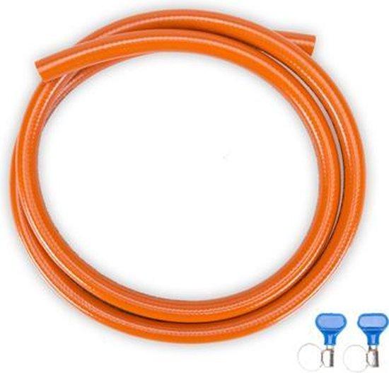 Gimeg HD Gasslang pvc - 2 slangklemmen - 3 m