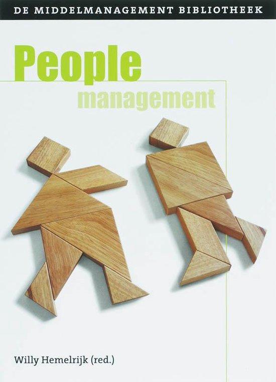 De middelmanagement bibilotheek 3 - Peoplemanagement - Willy Hemelrijk |