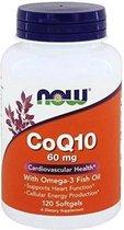 CoQ10 60mg w/Omega-3 Fish Oil 120softgels