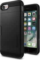 Spigen Slim Armor CS case iPhone 7 8 SE 2020 hoesje - Zwart