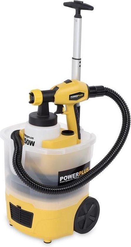 Powerplus POWX358 Verfpistool - 750 W – Met trolley