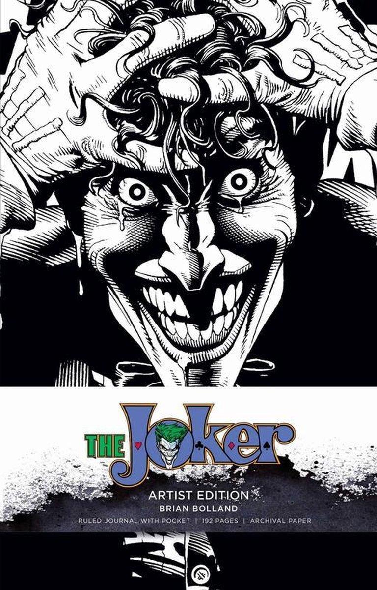 DC Comics: Joker Hardcover Ruled Journal