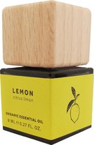 Bio scents etherische olie citroen, biologisch - LOW WASTE verpakking - geschikt voor aroma diffuser