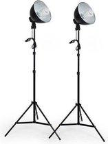 tectake studiolampen - 2x studiolamp - fotolamp fotografie