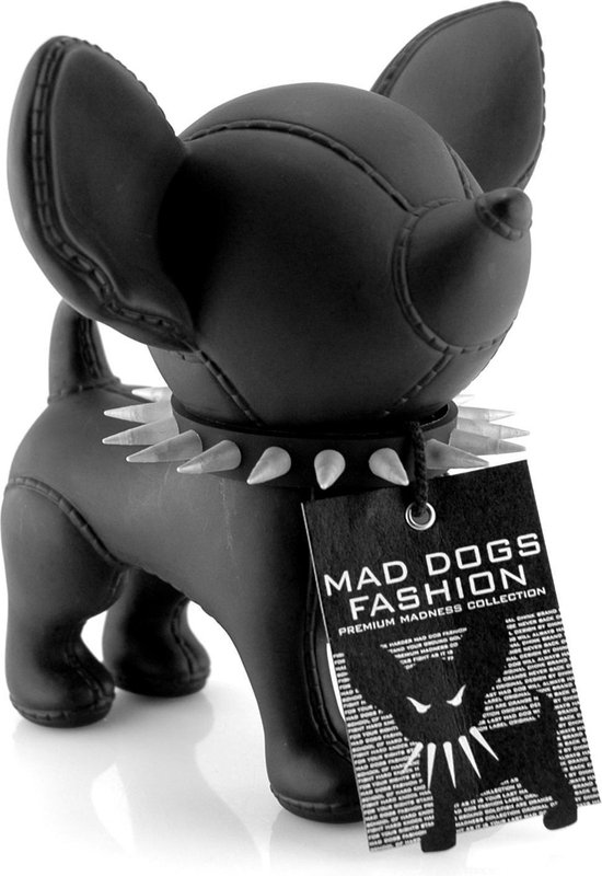 Fashion spaarpot mad dog hond mode punk chihuahua