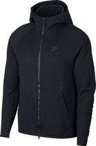 Nike Nsw Tech Fleece Hoodie Fz Vest Heren - Black/(Black) - Maat XL