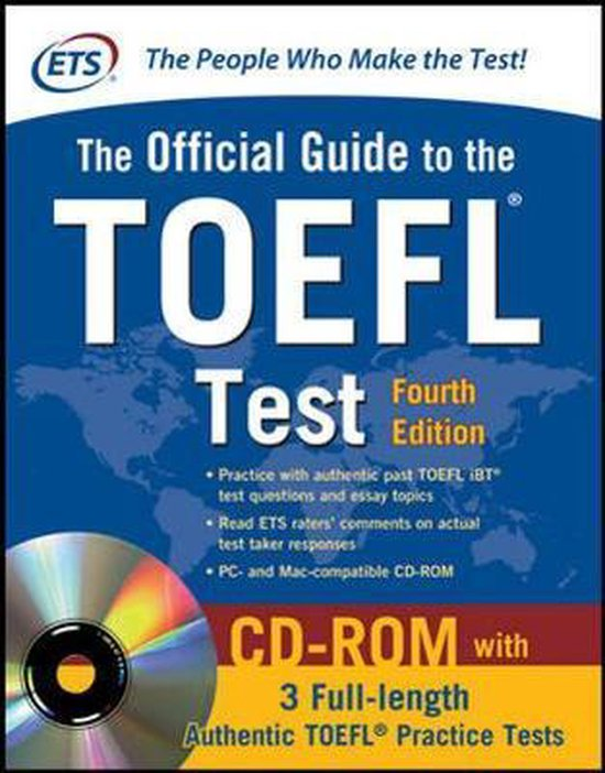 Boek cover Official Guide to TOEFL Test (4th Edn) van Educational Testing Service (Onbekend)