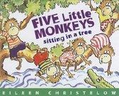 Five Little Monkeys Sitting in a Tree Book & Cd