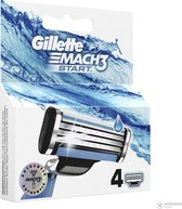Gillette Mach 3 start scheermesjes 4 stuks razer blades