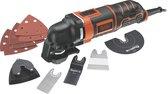 BLACK+DECKER MT300KA-QS Multitool - oscillerend - 300W - incl. koffer en 11 accessoires