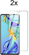 Huawei P30 Lite Screenprotector Glas - Huawei P30 Lite New Edition Screenprotector Glas - 2x Tempered Glass Screen Protector