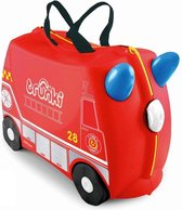 Trunki Ride-On Handbagage koffer 46 cm - Frank de Brandweerwagen