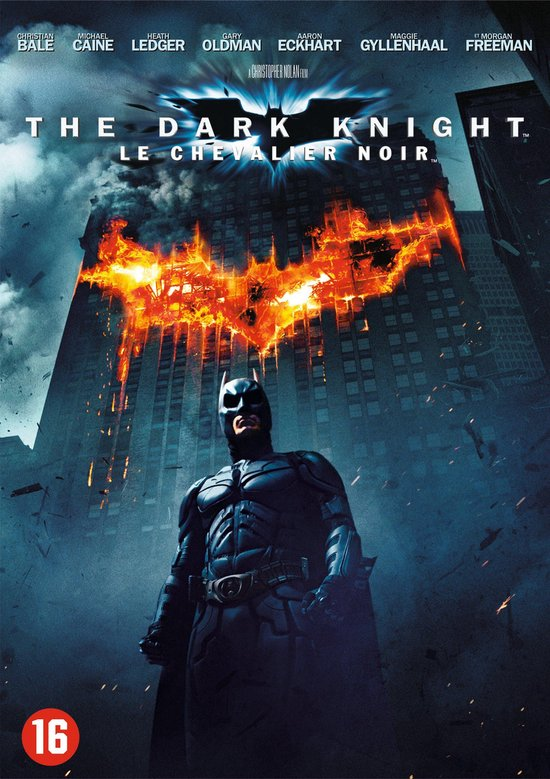 Cover van de film 'The Dark Knight'