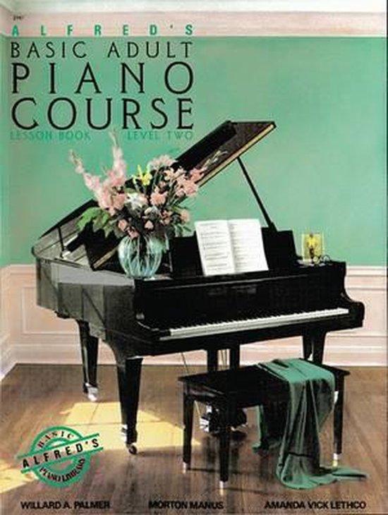 Boek cover Alfreds Basic Adult Piano Course van Manus Morton
