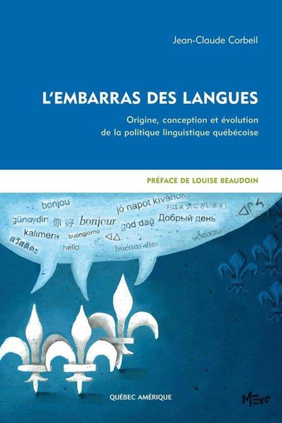 Boek cover LEmbarras des langues van Jean-Claude Corbeil (Onbekend)