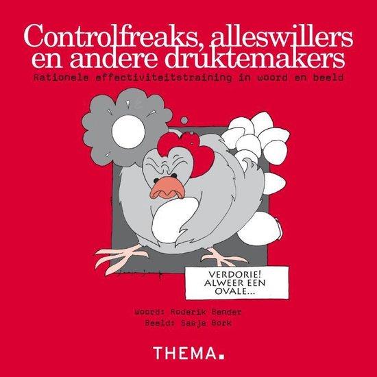 Boek cover Controlfreaks, alleswillers en andere druktemakers van Roderik Bender (Paperback)