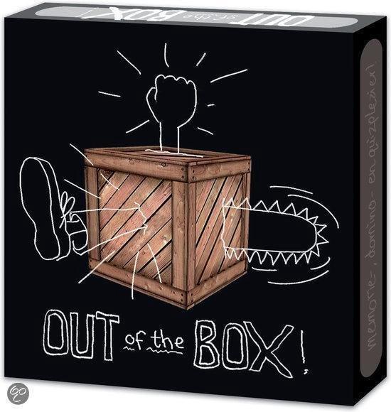 Afbeelding van het spel Memo Quizspel Out of the Box - Krijt