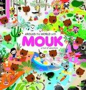 Boek cover Around the World with Mouk van Marc Boutavant