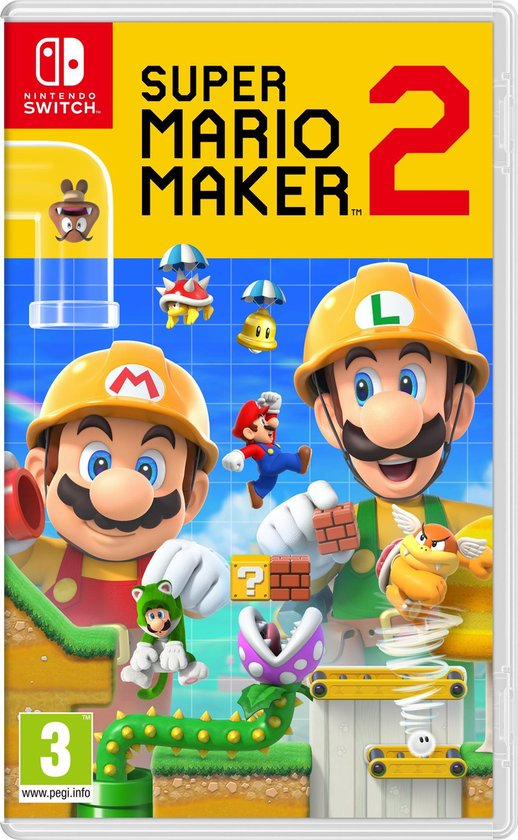 Afbeelding van Super Mario Maker 2 - Switch