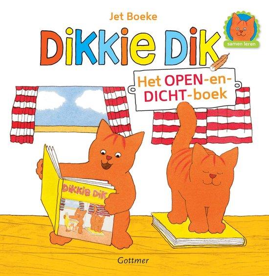 Dikkie Dik - Het open-en-dicht-boek - Jet Boeke |