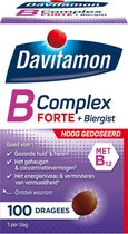 Davitamon Vitamine B Complex Forte Dragees 100 stuks