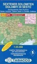 Wandelkaart 010 Dolomiti De Sesto, Sextener Dolomiten 1:25.000 (2017)