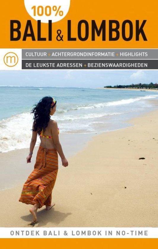 Cover van het boek '100% Bali & Lombok / druk Heruitgave' van Jens Erik Rasmussen