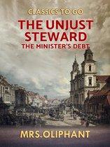 The Unjust Steward the Minister's Debt
