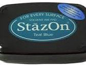 StaZon Ink Teal Blue
