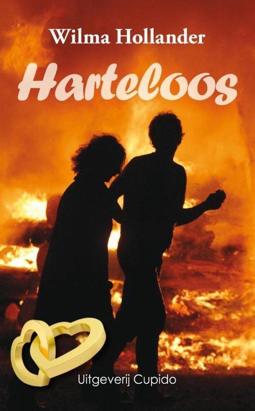 Cover van het boek 'Harteloos' van Wilma Hollander