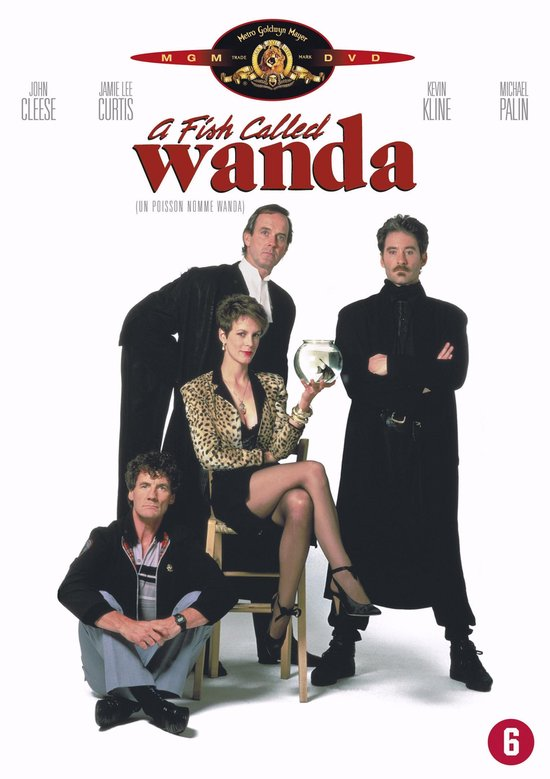Cover van de film 'A Fish Called Wanda'
