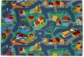 Afbeelding van Vloerkleed - Little village – Verkeerskleed - 95 x 200cm
