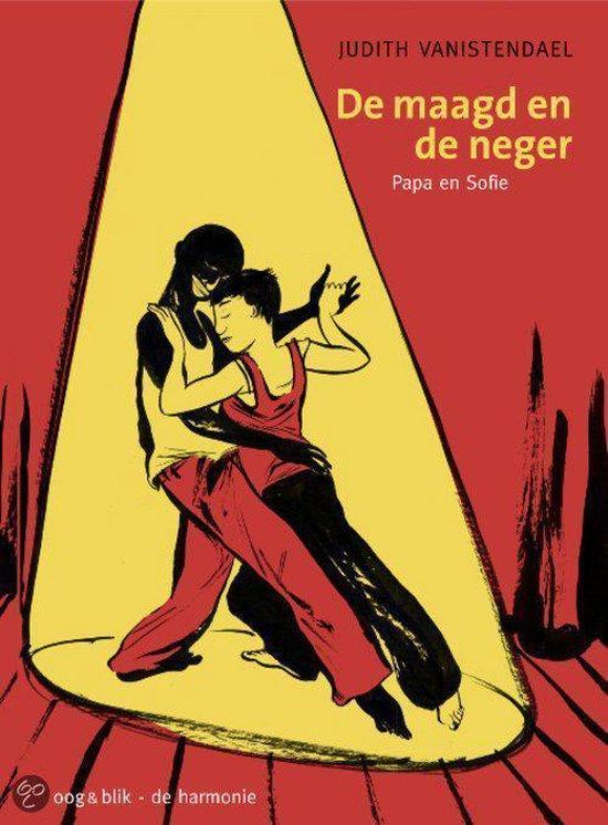 Cover van het boek 'De maagd en de neger' van J. van Istendael