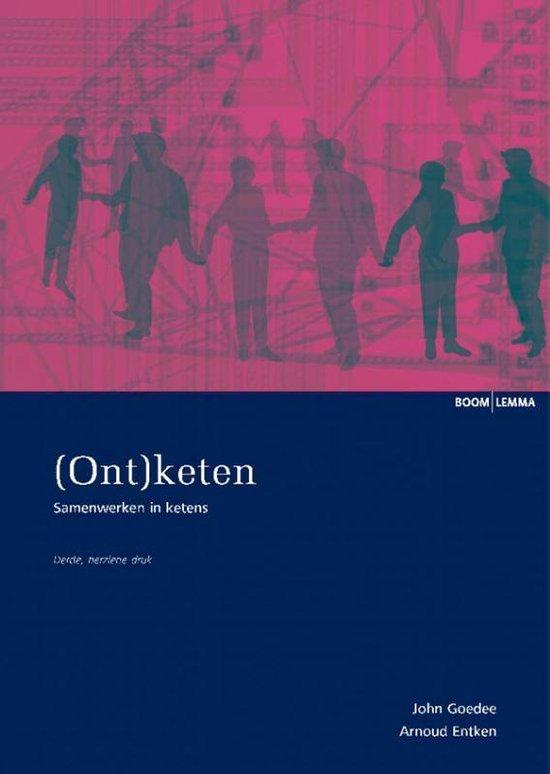 Cover van het boek '(Ont)keten' van John Goedee