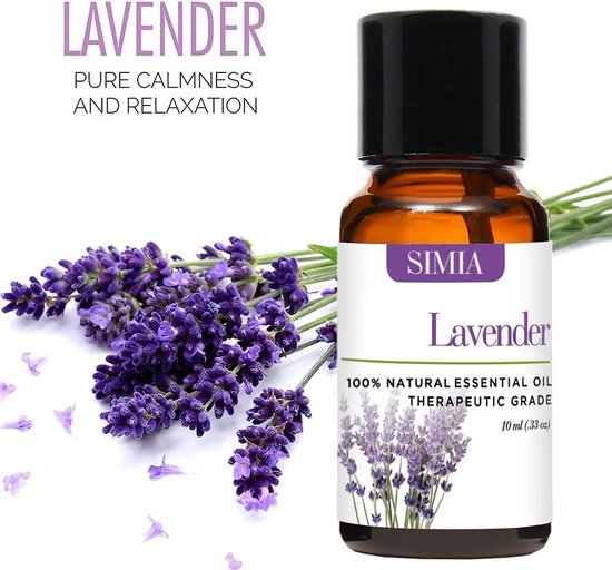 SIMIA Premium Essentiële Oliën Set 100% Natuurlijk - Aromatherapie - olie voor aroma diffuser - 6 x 10ml
