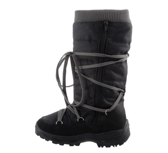 Winter-grip Snowboots - Dames - Zwart - Maat 39 - Winter-grip